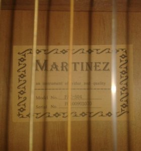 """Гитара """"Martinez"""""""