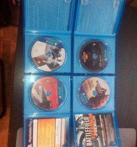 Продам 4 игры на PS4