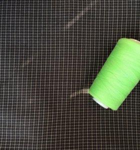 Ткань костюмная (шерсть/синтетика)