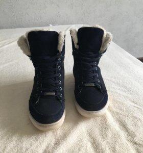 Зимние ботинки KEDDO с натуральным мехом