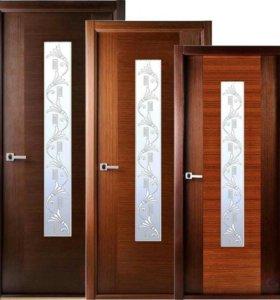Двери межкомнатные металлические.откосы арки
