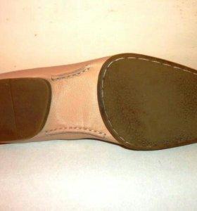 Туфли муж.кожаные