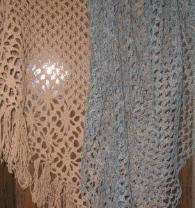 Вязаные шали/платки