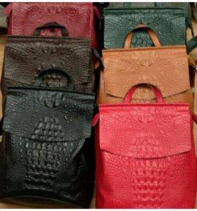 Рюкзак кожаный/Натуральная кожа/Трансформер