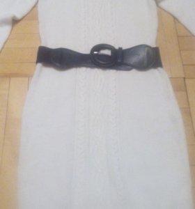 Вязаное платье 48 р
