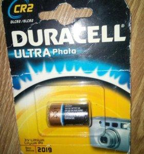 Батарейки DURACELL CR2 -4шт.