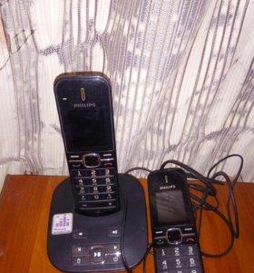 Два смежных телефона