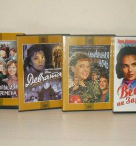 """DVD диски """"Классика советского кино"""" (9 штук)"""
