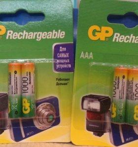 Ni-Mh аккумулятор AAA (HR03) GP 1000mAh