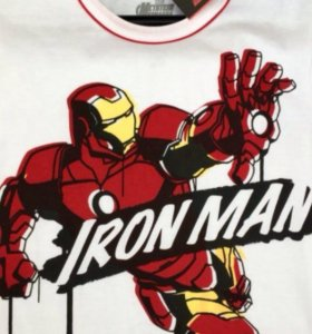 Новая футболка Ironman