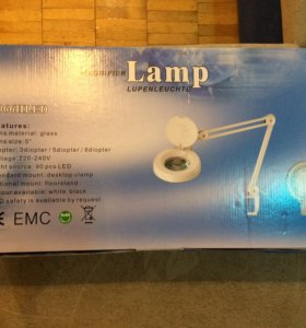Лампа-лупа для косметологии