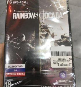 Игра на ПК Tom Clancy's Rainbow Six Осада