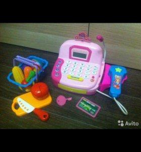 Кассовый аппарат детский