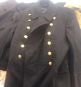 Шинель моряка новая