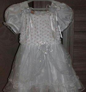 Платье нарядное 3-6 лет