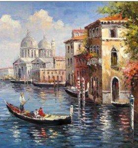 Картина по номерам- романтичная Венеция