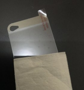 Стекло-плёнка на айфон 4-4s