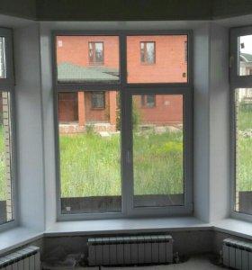 Окна любой конструкции и размеров