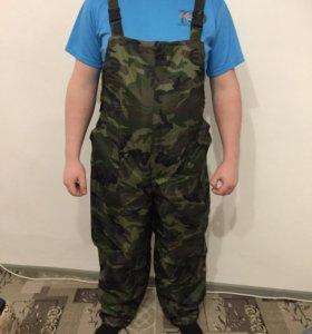 Камуфляжные штаны на синтепоне
