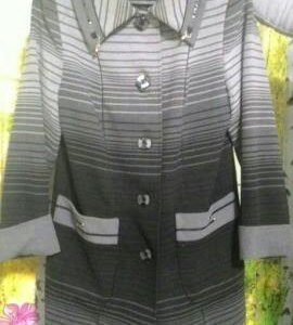 Пальто демисезонное р-р 52