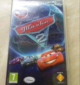 Игра на PSP Тачки 2