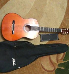 Гитара,чехол ,подставка .