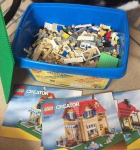 Лего огромный набор 3,2 кг россыпь