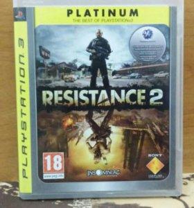 "Игра PS3 ""RESISTANCE 2"""
