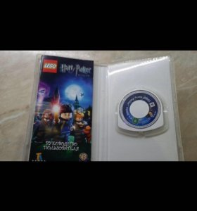 Игра на PSP Lego Harry Potter