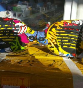 Скутер скейтборд хип хоп