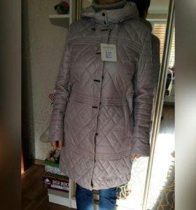 Удлиненная куртка-парка новая
