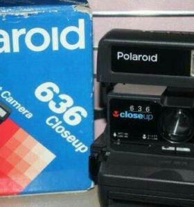 Фотоаппарат polaroid 636 closeup