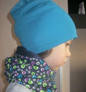 Детская шапка и снуд