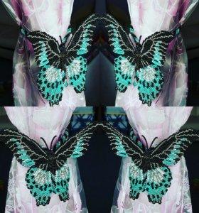 Бабочка держатель для штор
