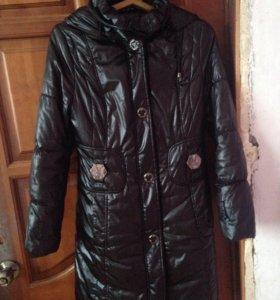 Куртка тёплая зима осень весна