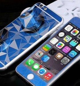 Стекло Diamond Colored Glass для iPhone 6 / 6s