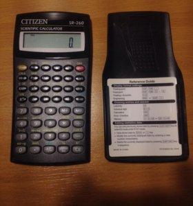 Калькулятор citizen cr-260