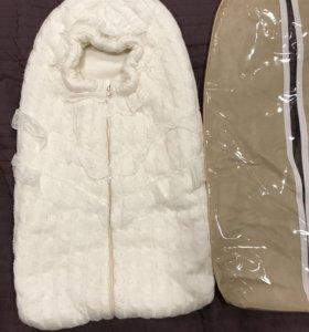 Конверт детский тёплый 62р