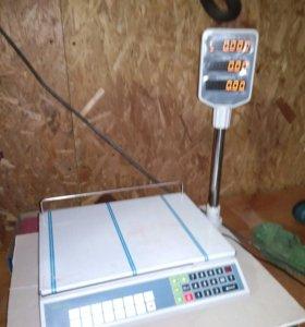 Весы торговые электронные Меркурий 315