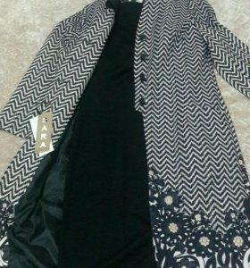 Платье черное и накитка