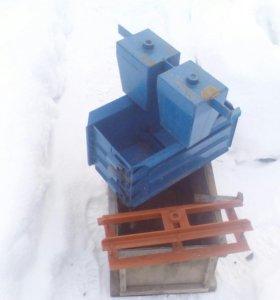 Форма для изготовления керамзитобетонных блоков