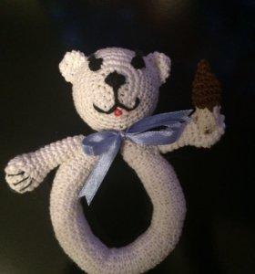 Погремушка-медвежонок