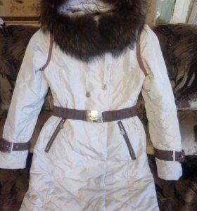 Продам зимний пуховик 42-44 раз