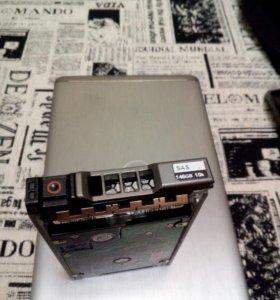 "Серверный HDD 2.5"" Hitachi SAS 146Gb 10K для Dell"