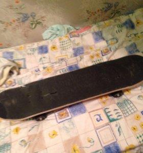 Скейт новый 2 шт