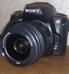 Фотоаппарат зеркальны Sony Alpha dslr-A230 body