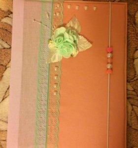 Папка для документов для принцессы
