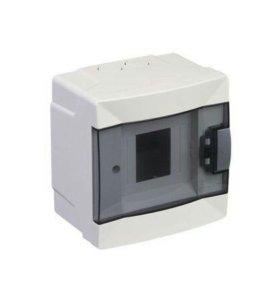 Щит пластиковый для 2 автоматических выключателей