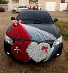 Прокат Toyota Camry на свадьбу, выписку