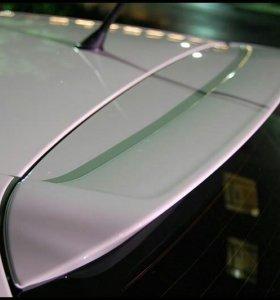 Спойлер VW GOLF V 5 карбон фактура